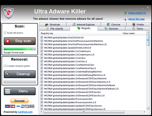 Ultra Adware Killer 5.9.4.0 Portable