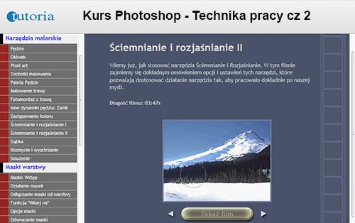 Kurs Photoshop - Technika pracy cz 2 (PL)