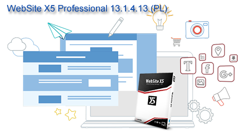 WebSite X5 Professional 13.1.4.13 (PL)