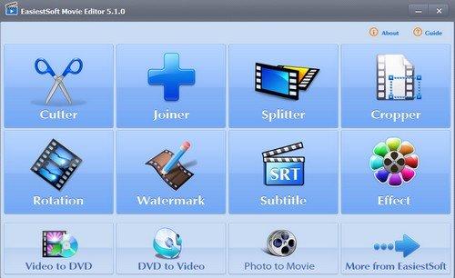 EasiestSoft Movie Editor 5.1 + Portable
