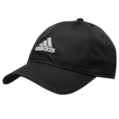 adidas m tze cap herren damen schwarz verstellbar klettverschluss golf neu ebay. Black Bedroom Furniture Sets. Home Design Ideas